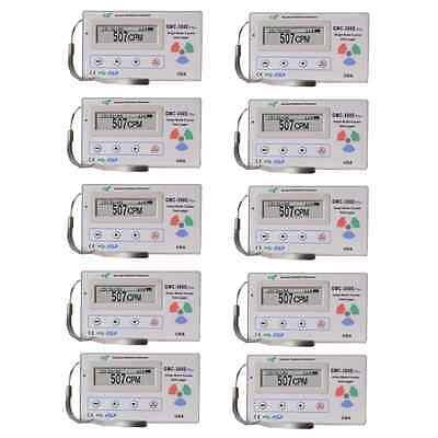 10 X Gq Gmc-300e Plus Digital Geiger Counter Radiation Detector Meter Beta Gamma