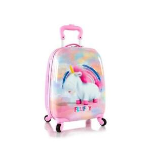 Heys Despicable Me Kids Spinner Luggage 18 Inch - Fluffy