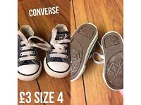Converse baby/toddler trainers