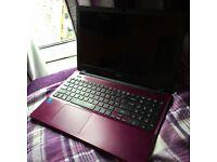Acer Aspire E Purple Laptop - excellent condition!