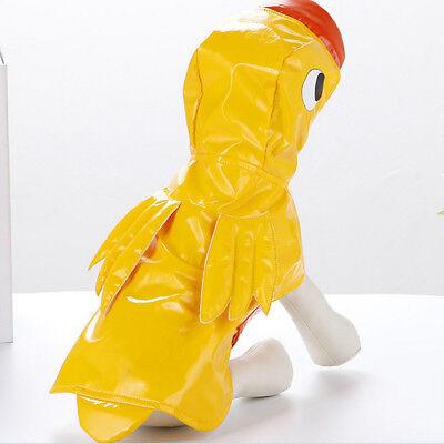 Haustier Regenmantel Kostüm Enten Haifisch Art Hunderegenmantel, - Hunde Ente Kostüm
