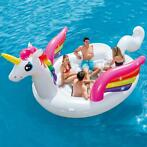 Intex Luchtbed Unicorn Party Island 57266EU