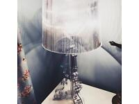 Genuine Kartell Bourgie Table lamp - Crystal / Clear