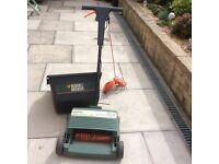 ELeltric lawn rake/scurrifier