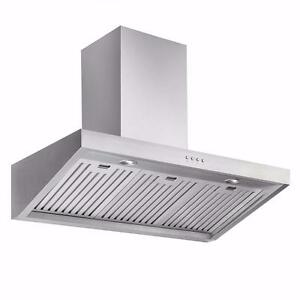 "36"" Ancona Elite and Chef Range Hood CLEAROUT - New Delivery June 12th!!!!"