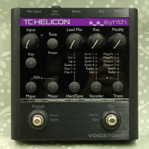 TC HELICON Voice Tone Synth Vocal Effect Processor