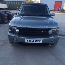Landrover Rangerover 3.0 TD6SE 5 dr for sale. Metallic giverny green with uplifted xenon lights.