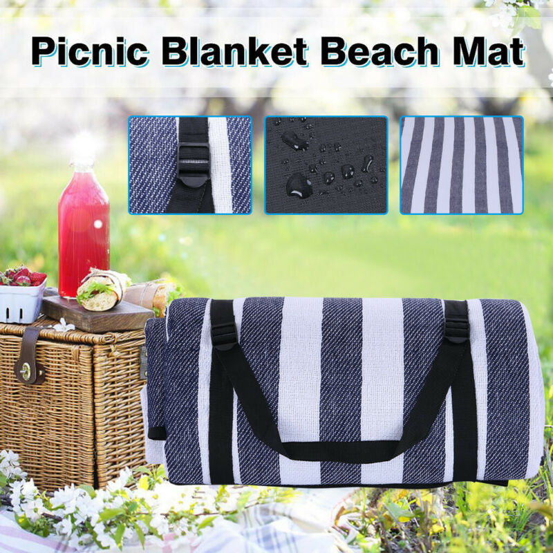 Extra Large 2x2m Sand Proof Beach Blanket Outdoor Beach Towe