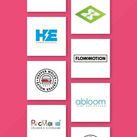 50% OFF Freelance Graphic Design Services - Starts £29 - Logo Design, Branding & Print Services