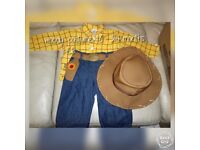 Woody dressing up children's costume perfect for Halloween 18-24 months