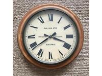 Vintage Gent & Co wall clock