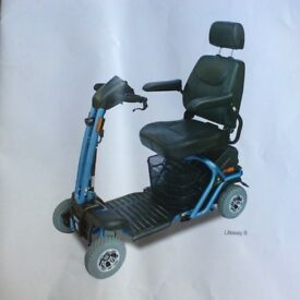As New Used Mobility scooter, 8mph, road legal, Liteway 8, transportable electric scooter.