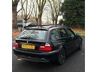 BMW 320D diesel estate low mileage