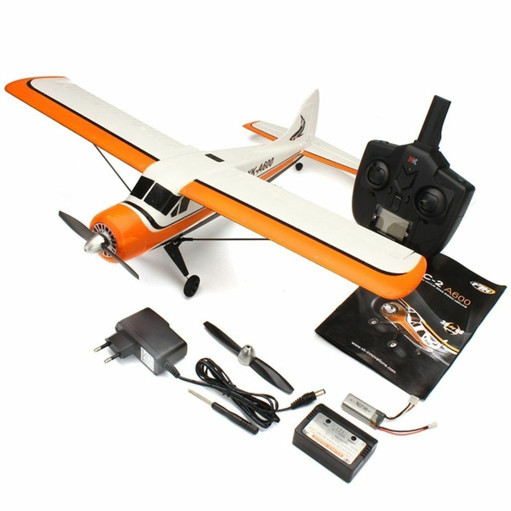 XK DHC-2 DHC2 A600 5CH 3D6G System Brushless RC Airplane Compatible Futaba