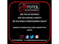 Teesside Mobile Disco For Hire