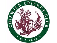 Chiswick Cricket Club - new players welcome! Juniors, adults, competitive, social - all welcome.....