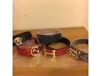 Mens Designer Belts - Gucci, Versace, Hermes, Louis Vuitton