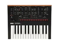 Korg Monologue Analog Synthesizer (MINT CONDITION) + FREE ACCESSORIES
