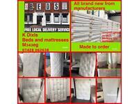 K Dixls beds & mattresses 12:5 coil gauge memory foam mattresses 3ft 4ft 4ft6 5ft 6ft from only £99