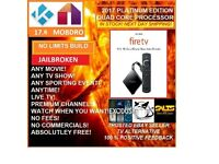 *****Amazon Fire TV with 4K Ultra HD and Alexa Voice + Latest Kodi 17.6 + Apps*****