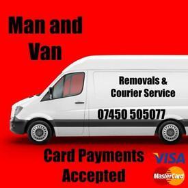 Cheap man and van hire