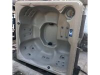 American Made Hot Tub Jacuzzi, 1 Yr Warranty, Delivery, Lounger, Plug and Play, RGB LEDS, Steps