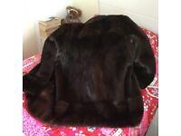 Fabulous Genuine mink coat 14-20 available until I delete it