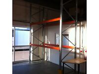 DEXION HEAVY DUTY INDUSTRIAL COMMERCIAL WAREHOUSE GALVANISED PALLET RACKING BAY