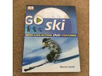Go ski book with live action DVD coaching