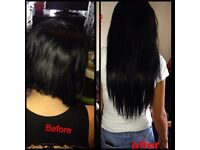 Nano rings/RUSSIAN HAIR EXTENSIONS/Flat Tapes/ Mobile hair stylist at the comfort of your home