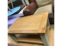 Beautiful French grey and oak dining table