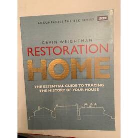 NEW Restoration home Soft cover book