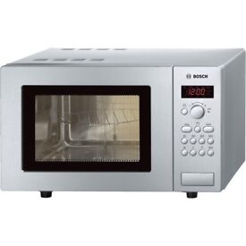 BOSCH MICROWAVE OVEN USED IN GOOD WORKING CONDITION