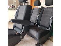 2016 Mercedes Vito Dualiner seats