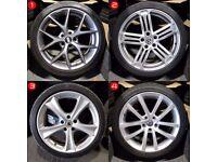 "18"" 2nd hand Alloy Wheels for VW Golf mk5, mk6, mk7, Jetta, Caddy Etc"