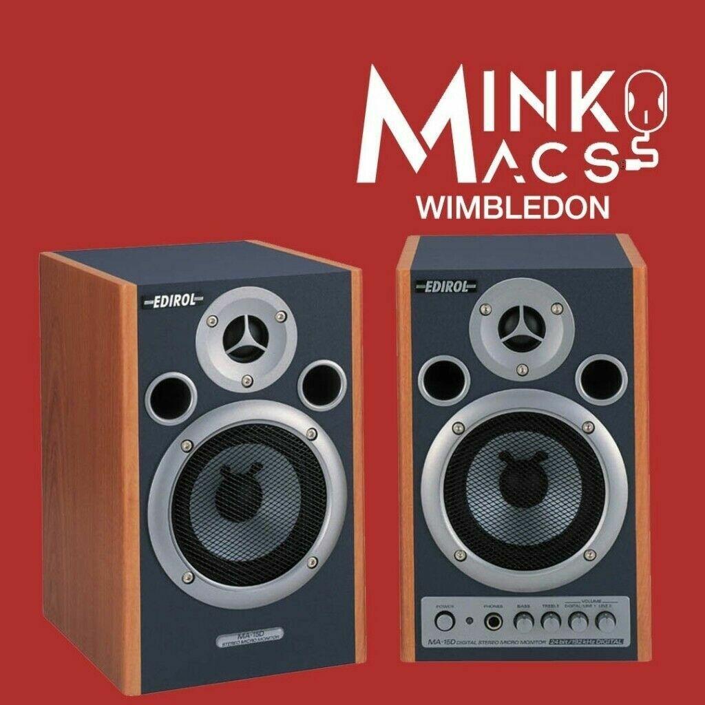 Roland Edirol HiFi Speaker Set Final Cut Logic Pro X Ableton Free Delivery  Warranty   in Wimbledon, London   Gumtree