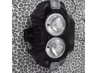 Ducati Moto Guzzi Honda Front Lights and Casing Like new! Open to offers.