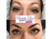 Eyebrows Microblading permanent make up tattooing Certified fully qualified beauty clinic