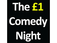 £1 Comedy Night - New Act Of The Year Final :- Part of the Nottingham Comedy Festival