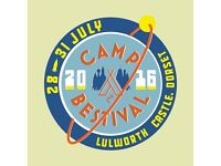 Camp Bestival - Saturday with Fat Boy Slim Adult Day Ticket & Parking