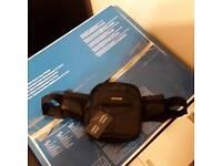 New Loren bum bag soft black leather