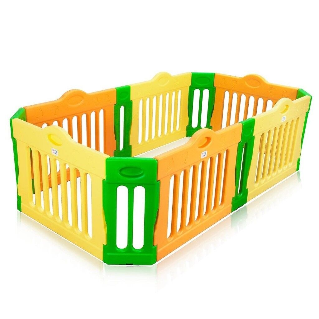 Baby Vivo Expandable Large Playpen Room Divider Foldable