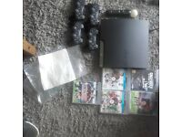 PS3 & LOADS OF EXTRAS (IMMACULATE CONDITION)