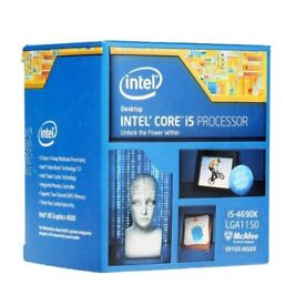 Intel Core i5-4690K CPU (with original cooler and box)