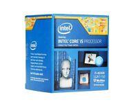 Intel Core i5-4690K CPU (with original cooler and box)