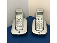 BT Studio 4100 Plus cordless phones (pair)