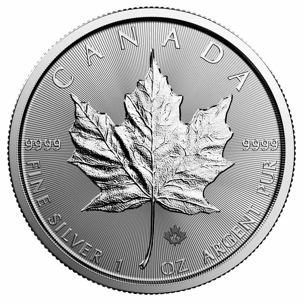 Kanada 5 Dollar 2018 Maple Leaf 1 Oz Silber Münze Stempelglanz ST
