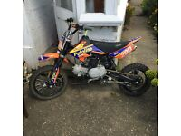 Here is my almost new stomp 125 only riden twice I'm mine condition