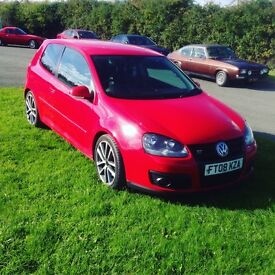 VW golf gt tdi 170 full leather 2008 fsh