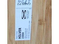 IKEA 'HILVER' BAMBOO TABLE TOP NEVER USED